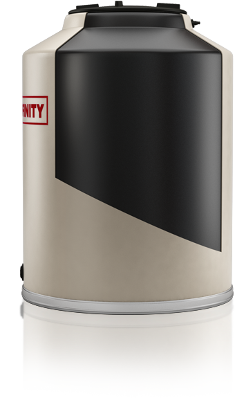 Tanque Affinity plástico - Capa UV