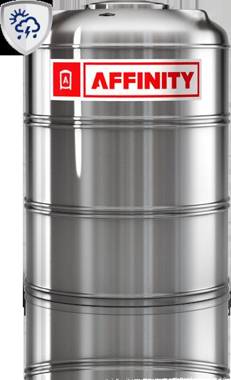 Tanque Affinity acero UV